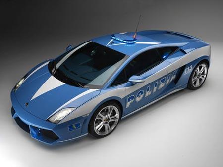 La police italienne en Lamborghini  dans Vidéo lampolice1